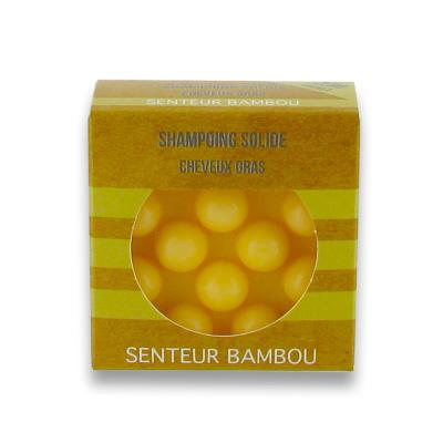 Shampoing Solide Végan Bambou 55 Gr